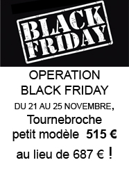 OPERATION BLACK FRIDAY DU 21 AU 25 NOVEMBRE